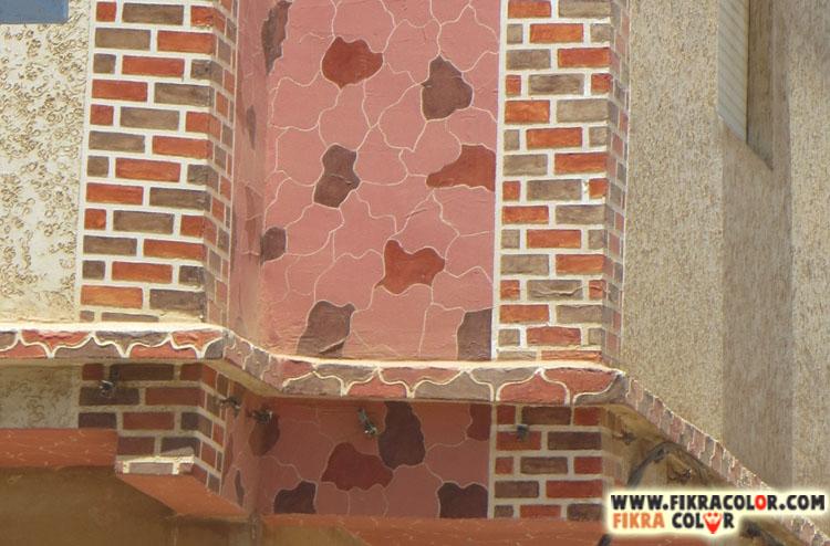 طريقة سهلة ورائعة في تزيين واجهة منزلك بديكور كريفي على شكل حجر