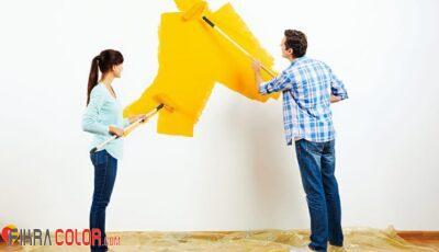 طريقة تساعدك على طلاء منزلك بنفسك بدون عناء