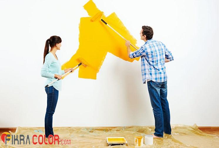 طلاء منزلك بنفسك بدون عناء