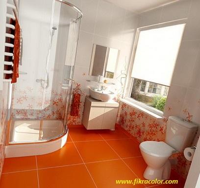ديكورات حمام زجاج