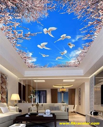 ورق حائط لسقف