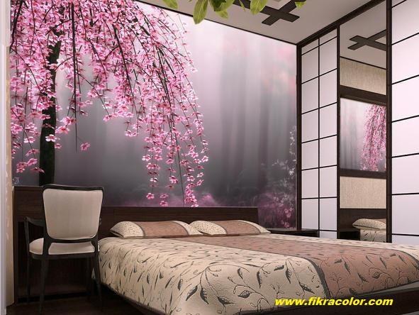 جديد اوراق الجدران غرف النوم