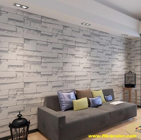 ورق جدران رمادي