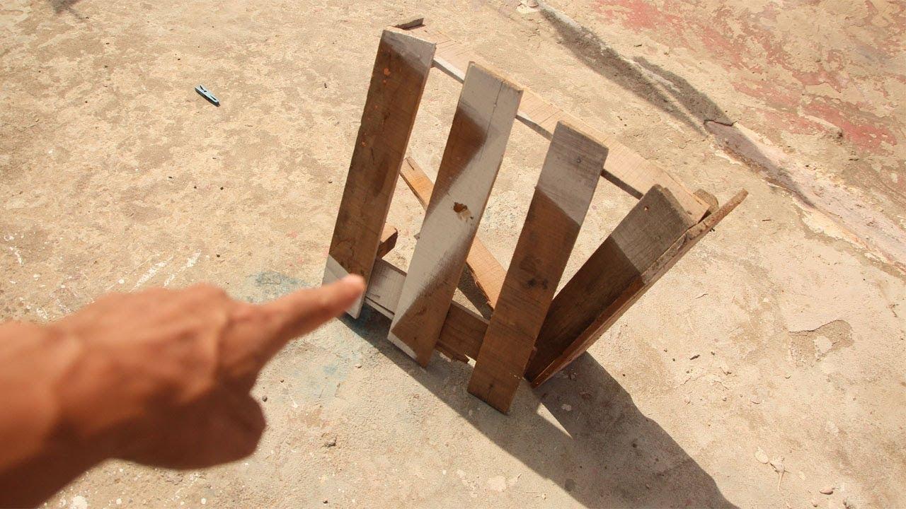 لا ترمي هذا الخشب بعد اليوم شاهد ماذا صنعت اكتشف واستفد مشروع جديد