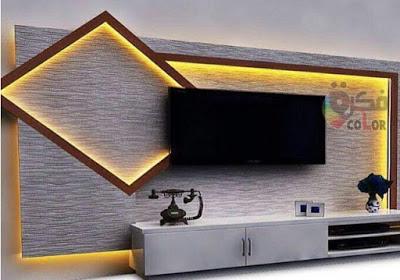 ديكور جبس تلفزيون ديكورات جبس بورد تلفزيون Gypsum Board TV