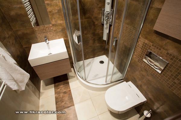 ديكور حمامات صغيرة Small bathroom decor