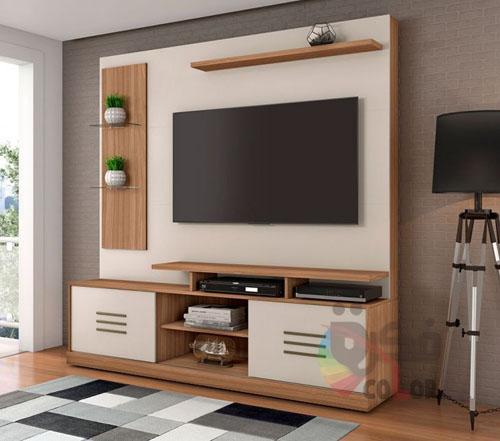 ديكورات  طاولات التلفزيون خشبية بجميع الالوان TV tables