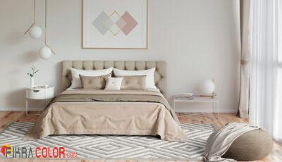 تنسيق الالوان في غرف النوم