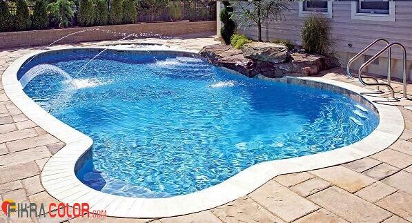 ديكور مسبح جميل