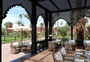 حديقة في فندق سلمان