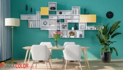 رفوف خشبية للحائط