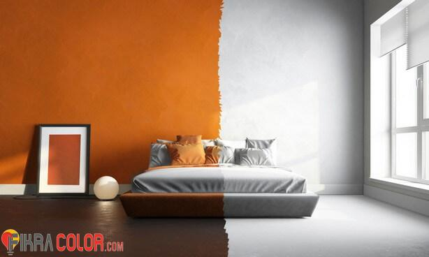 لون البرتقالي