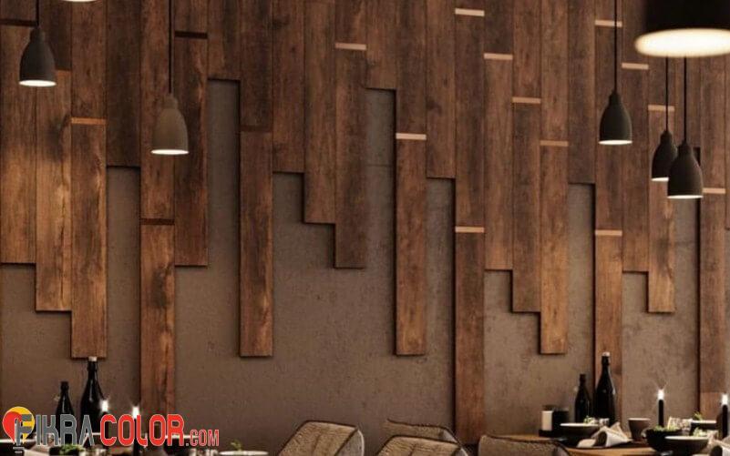 ديكور خشب جداري