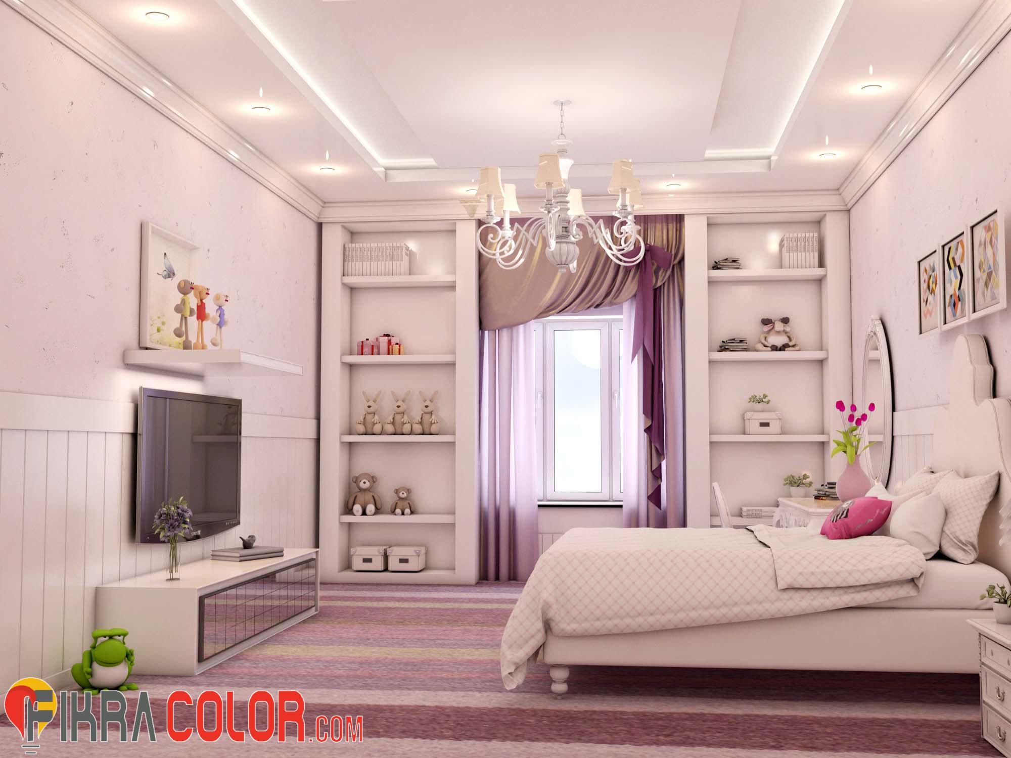 ديكورات غرف نوم بنات