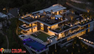 ديكور قصر في لوس انجلوس ب 45 مليون دولار