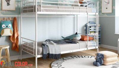 ديكورات سرير طابقي في غرف نوم الاطفال