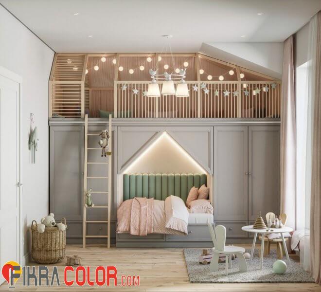 ديكورات سرير طابقي