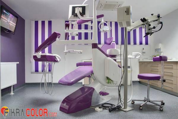 ديكورات عيادة اسنان