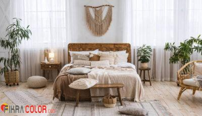ديكورات مفروشات سرير