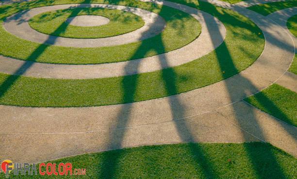 ديكورات عشب صناعي